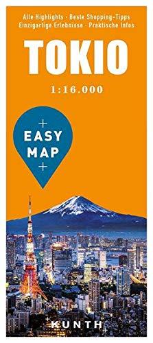 EASY MAP Tokio: 1:16.000 (KUNTH EASY MAP: Reisekarten)