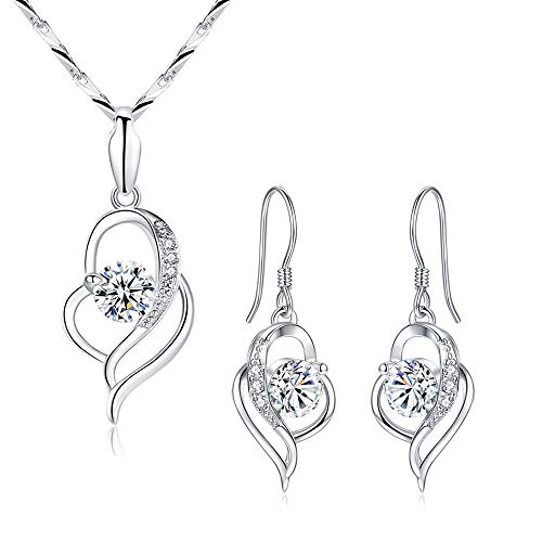 Shuxin Silver Jewellery Set for ...