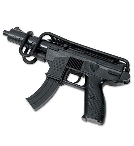 Edison Giocattoli Uzi mit Armstütze Polizei Agent FBI SWAT Sondereinsatzkommando 13 Schuss