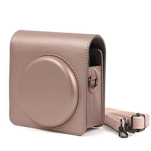Funda protectora para Fujifilm para Instax Square Sq6 Cámara de película instantánea pu bolsa de cuero con correa de hombro