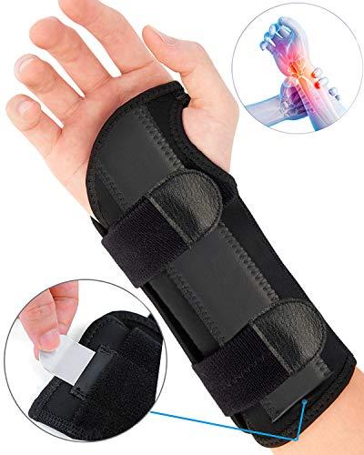 ZOUYUE Handgelenk Bandagen, Handgelenkstütze Handbandage für Sport und Alltag, Schmerzlinderung und die Stabilität unterstützen, Links Rechts (Groß, Rechts)