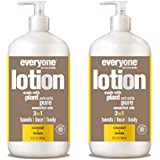 Everyone Lotion, Coconut and Lemon, 32 Fl Oz (Pack of 2)