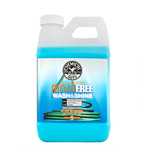 Chemical Guys CWS88864 Rinse Free Wash and Shine, The Hose Free Rinseless Car Wash (64 oz), 64 fl. oz, 1 Pack