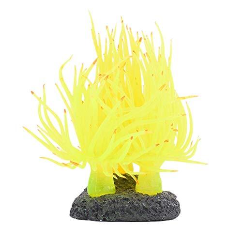 Vektenxi Aquarium Landschaftsbau Dekoration Weichkorallen Kunststoff Simulation Harz Korallen Wanddekoration Premium Qualität