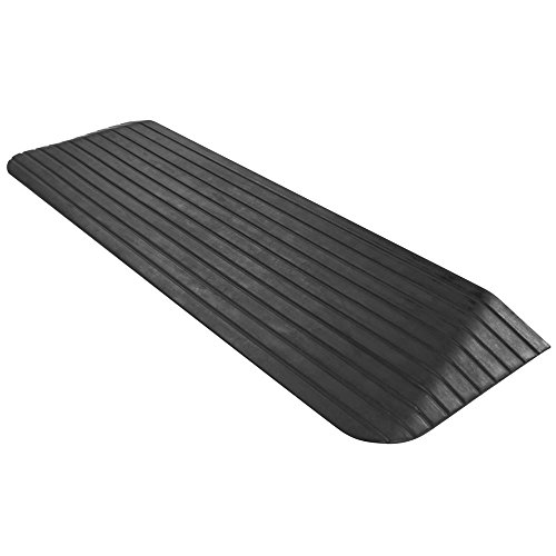 Silver Spring Solid Rubber Threshold Ramp - 1-1/2