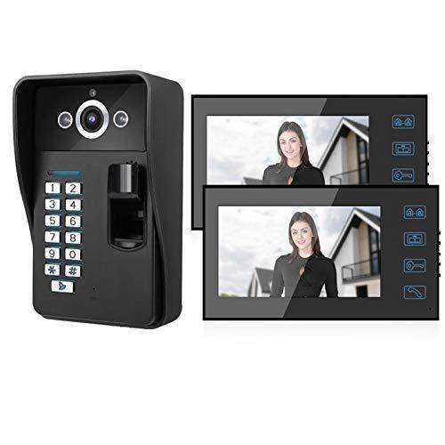 Timbre con Video Timbre con Video de 7 Pulgadas, fácil de operar(European regulations)