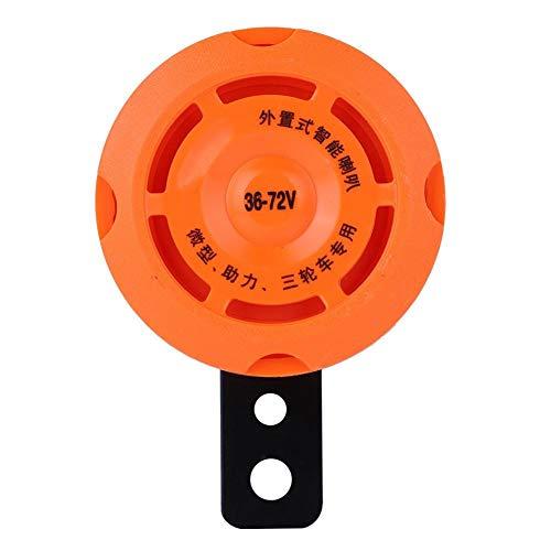 Regun Horn elettronico, Impermeabile Intelligente Elettronica del Corno squillare Il Campanello for Bici elettrica 36V / 48V / 60V / 72V