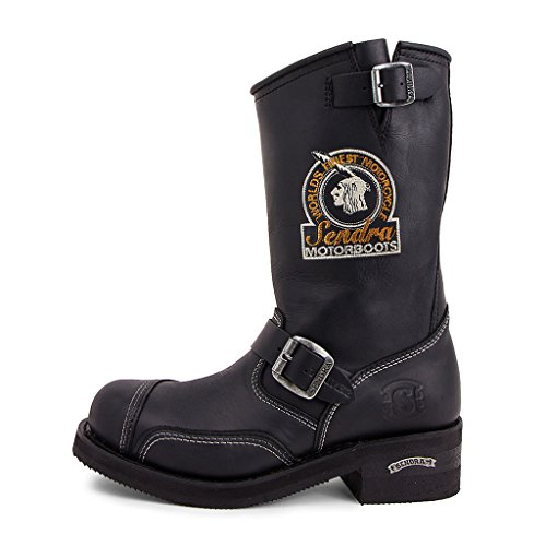 Sendra Boots - 3565 Steel Sprinter Negro-42