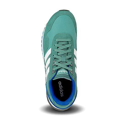 adidas 8K 2020, Zapatillas Hombre, ESMTEC/FTWBLA/AZUREA, 44 EU
