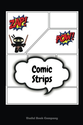Comic Strips: Over 100 Pages of Comic Book Strips, Different templates, 6 x 9, Create your own Comic