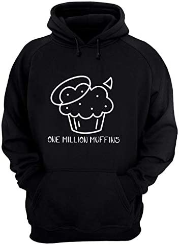 Redbubment Badboyhalo 1 Million Muffins T Shirt Hoodie Long Sleeve Ladie Short Sleeve T Shirt product image