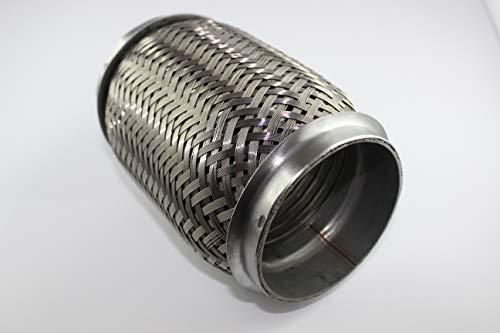 Flexrohr Interlock 70mm Länge 150mm Flexstück Edelstahl