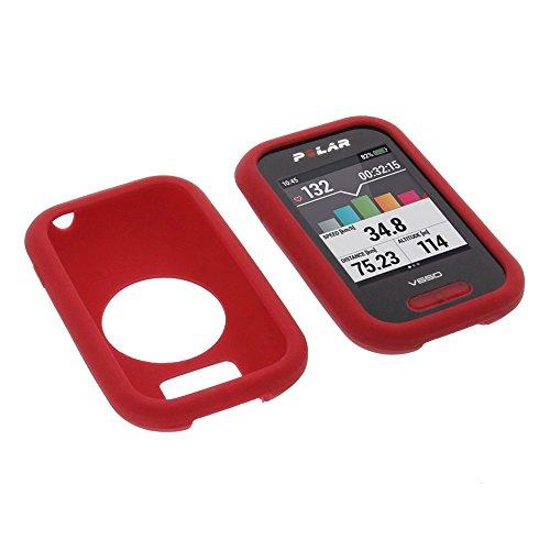 foto-kontor Cover Protettiva per Polar V650 in Silicone Rosso