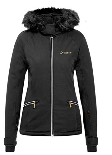 Maier Sports Damen Moana Skijacke, Black, 44
