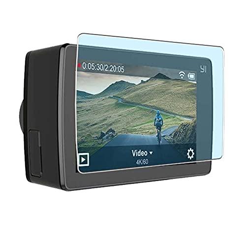 Vaxson 3 Stück Anti Blaulicht Schutzfolie, kompatibel mit YI 4K Plus Action Camera, Displayschutzfolie Anti Blue Light [nicht Panzerglas]