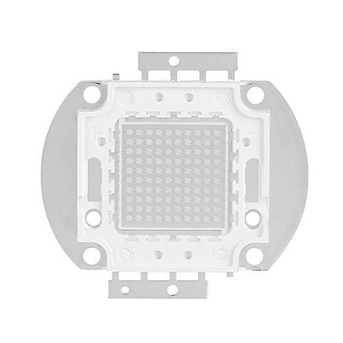 Bombilla LED chip, Chip de alta potencia, 100W UV395-400Nm LED Ultravioleta UV Componentes del emisor Diodo Ultravioleta Bombilla de la lámpara Granos DIY Iluminación
