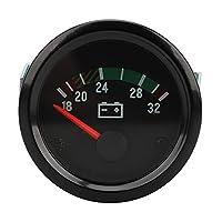 Semoic 52 MMユニバーサル車変更メーターポインタータイプ18-32 V摂氏VDO電圧計