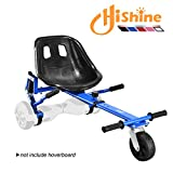 Upguade Hoverboard Conversion Kit,Seat Attachment Go Kart, Hoverboard Go Cart Accessories, Heavy Duty Frame, Fun for Kids Fits 6.5'/8'/10' (Red)