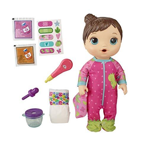 Boneca Baby Alive Aprendendo a Cuidar Morena - E6942 - Hasbro