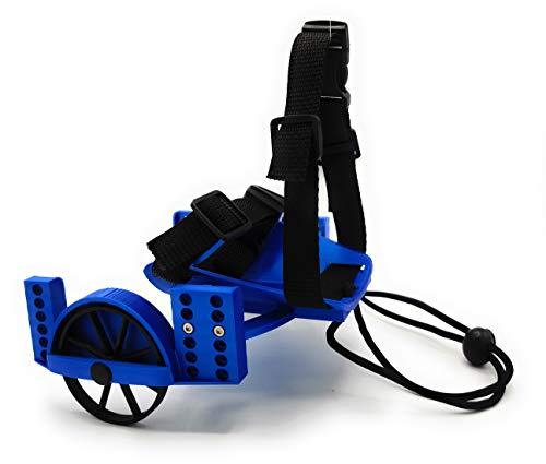 SporadiCat Rollstuhl für Meerschweinchen (blau)