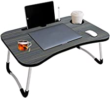 YOGI ENTERPRISE® Foldable Bed Study Table Portable Multifunction Laptop Table Lapdesk for Children Bed Foldabe Table...
