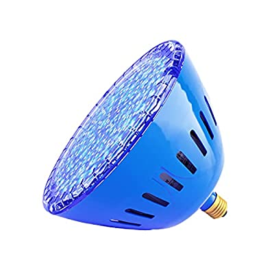 LAMPAOUS LED SPA Bulb, 15 Watt E26 LED Pool Bulb, 5 Color Show and 7 Solid Colors LED Hot Tub Replacement Bulb for Pentair and Hayward Under Water Lights Fixture.