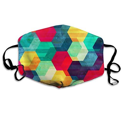 Unisex Retro Rhombus Nahtlose Textur Mode Maske Kalte Maske Maske Skimaske Wintermaske