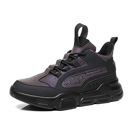 Hombres Aire Formadores Ejecución De Zapatillas De Deporte De Los Hombres Al Aire Libre Respirable Zapatillas De Deporte De Fitness Sendero Deportivo Zapatos De Las Señoras,Negro,US8.5/UK8/EU42