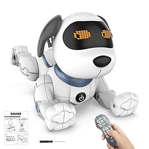 ROBOT PLAZA スタントドッグ STUNT DOG 犬型ロボット ロボット犬 簡易プログラミング ペットロボット 日本語説明書 STEM教育 ロボットおもちゃ