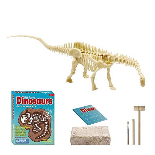 jieGorge Juguete Educativo, Juego de excavacin de fsiles de Dinosaurio, Juego de Actividades de Caja de Arena de Dinosaurio para nios, Juguetes y Pasatiempos (B)