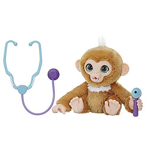 Hasbro FurReal E0367EU4 - Kleiner Patient Zandi interaktives Plüschtier