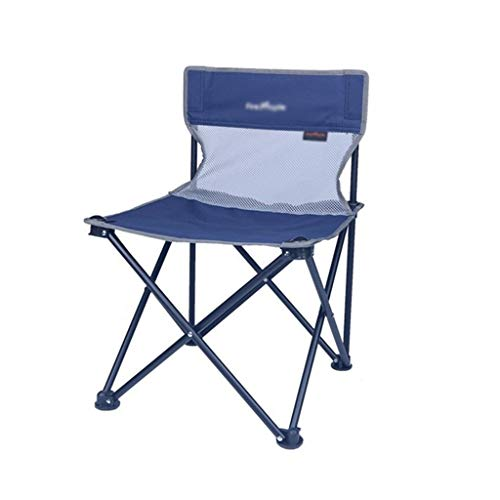 Student Stoel, Outdoor Drawing Klapstoel Portable Chair makkelijk op te bergen Chair Ligstoel Park Chair Easy To Store Chair (Color : Blue)