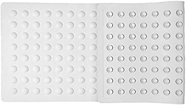 Bath and Shower mat, Non-Slip Bathtub mat, Extra Length, with Effective Suction Cups, Non-Toxic, Latex-Free Natural Rubber, 38.2