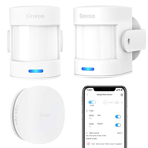 Govee Wi-Fi Motion Sensor Alarm, Remote Motion Detector Now $14.99