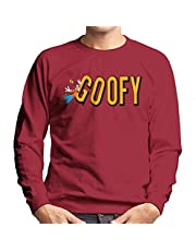 Disney Goofy Falling with Logo Sweatshirt voor heren