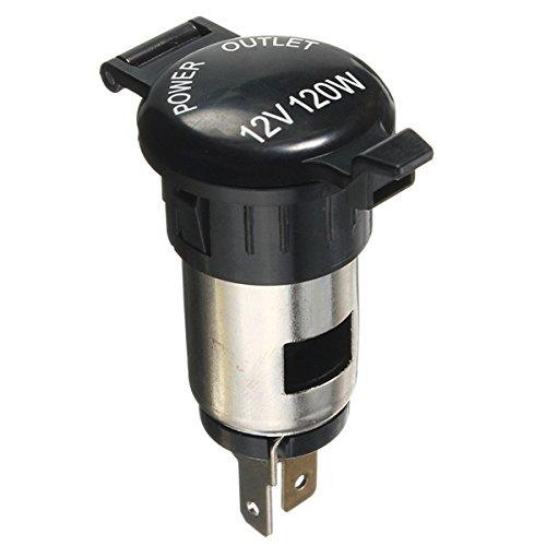 ILS 12V 120W Lighter Power Socket Plug Outlet voor Car Motorcycle Motor Bike
