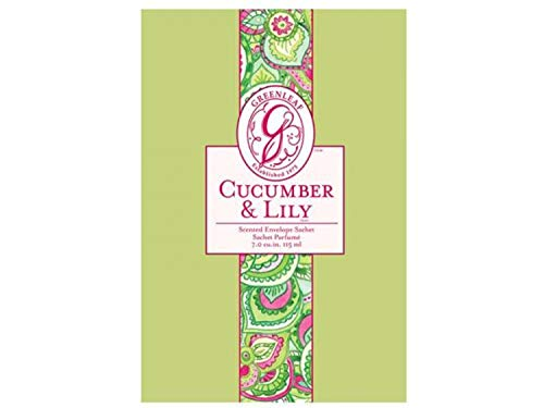 Greenleaf Duftsachet Cucumber & Lily™ 115 ml.