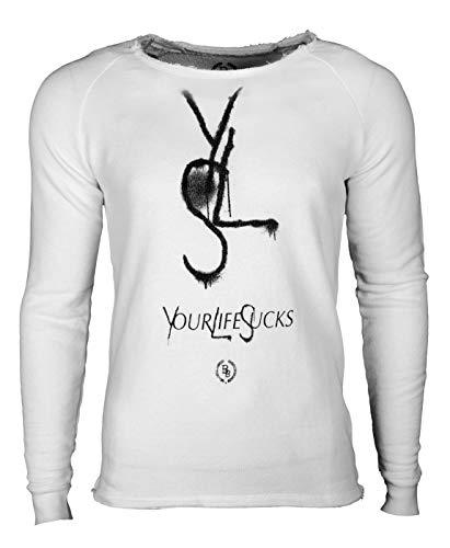 Boom Bap Herren Sweatshirt YLS (White, XL)