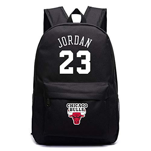 ULIIM Michael Jordan 23 Rucksäcke High Capacity Canvas Schultaschen Student Reisetaschen Daypack Laptop Bag