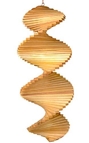 Kunsthandwerk Asien Windspiel Spirale aus Holz, Grösse:ca. 40 cm