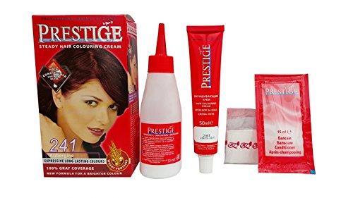 Pack Économique de 2 x suie en crème colorants pour le cheveux, couleur aubergine 241