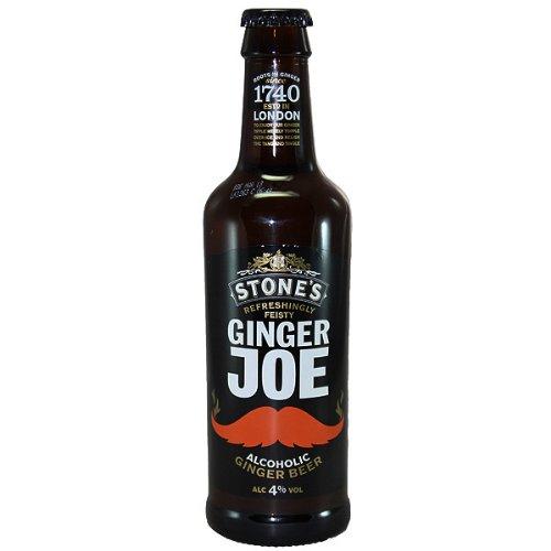 Stones Ginger Joe Alcoholic Ginger Beer (12 x 330ml)