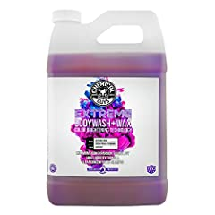 Synthetic wax formula adds extra protection with every wash PH-balanced formula does not strip wax or sealant coatings Enhances high gloss shine on every paint Color Slick and scratch-free car wash shampoo Perfect for use in any foam Gun or foam cann...