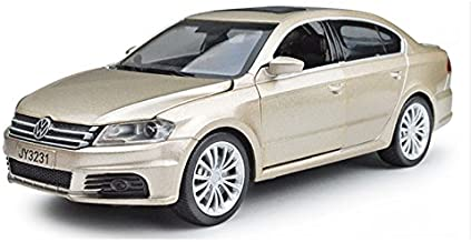Diecasts Toy Vehicles Volkswagen Car Model Diecast Pull Back Metal Alloy Car Acousto Optic Simulation Cars Toys Collection Oyuncak Araba