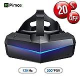 Pimax 5K Plus VR Casque de Réalité Virtuelle, Avec un Champ de Vision de 200°, Double Moniteur LCD RGB 2560x1440p, [Casque...