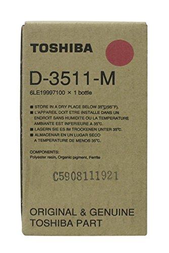 Toshiba D3511M Magenta Developer 6LE19997100 Europe Genuine New Sealed Box