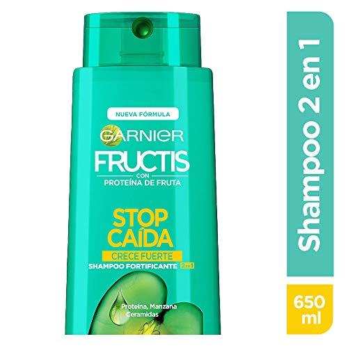 Garnier Fructis Shampoo 2 en 1 Crece Fuerte, 650 ml