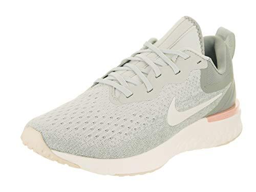 Nike Damen Odyssey React Laufschuhe, Mehrfarbig (Light Silver/Sail/Mica Green 009), 40.5 EU