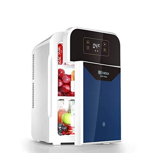 H.Slay SHKUU 20L Mini refrigerador, refrigerador doméstico para automóvil/Pantalla táctil/enfriamiento rápido/Doble núcleo/Ajuste Inteligente de Control de Temperatura de -9 Grados ~ 65 Grados