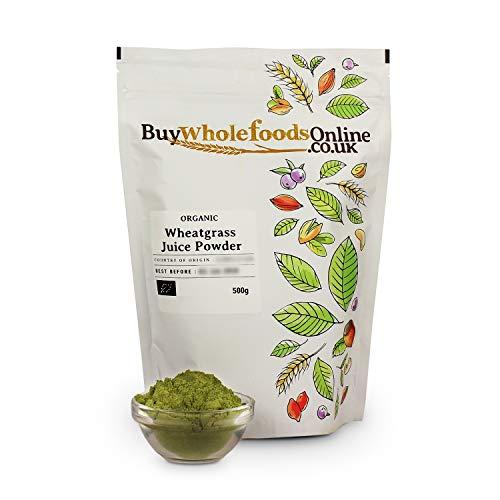 Organic Wheatgrass Juice Powder 500g (Buy Whole Foods Online Ltd.)